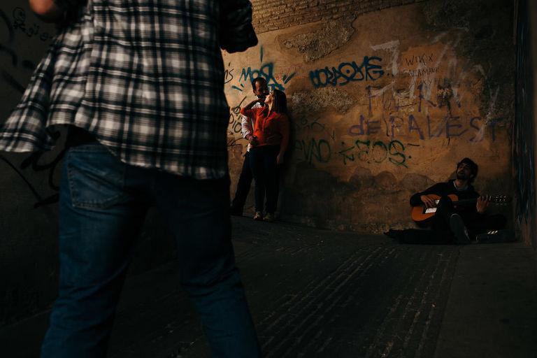 Preboda por las calles de Granada